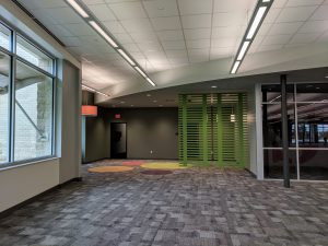 looking at the new Ringer teen area, photo taken May 8, 2019